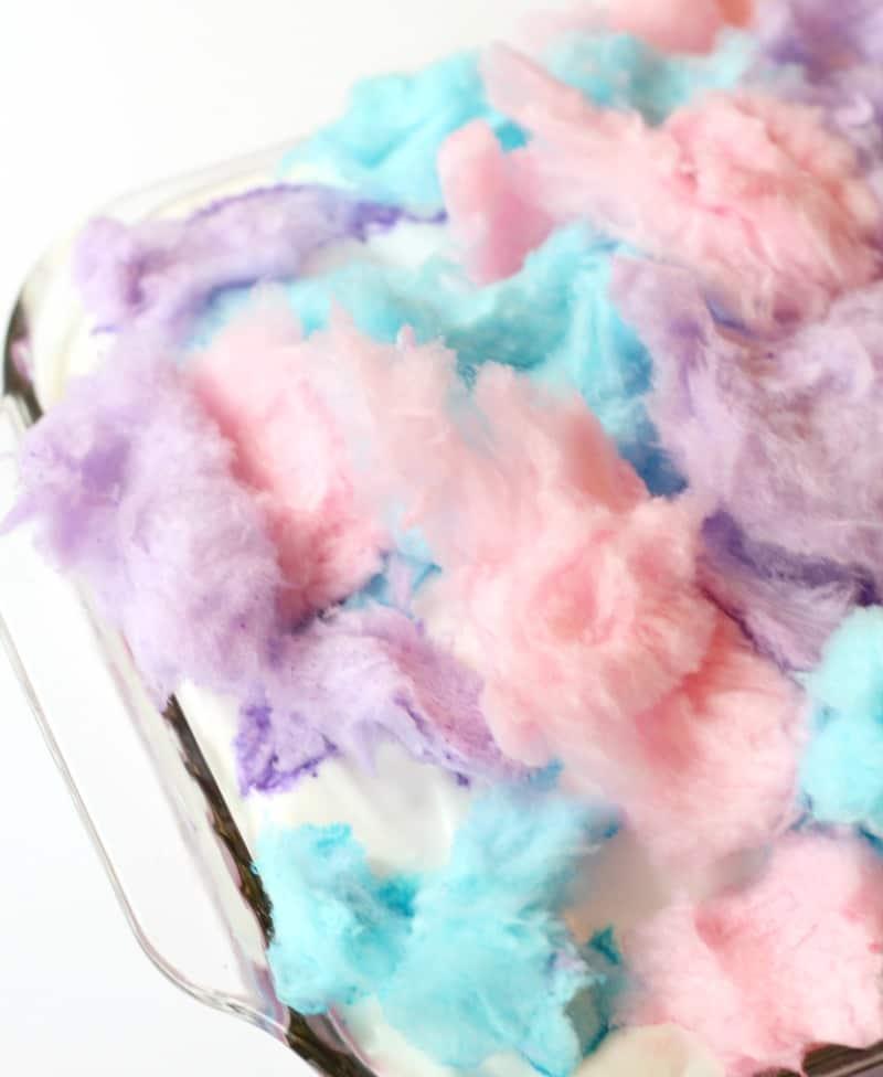 Cotton Candy Poke Cake 6