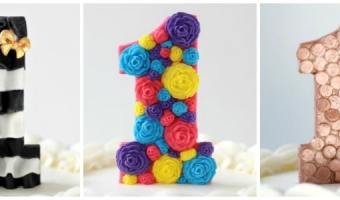 3 DIY First Birthday Cake Toppers for Girls