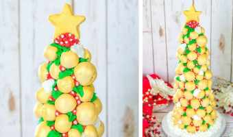 Cake Pop Christmas Tree