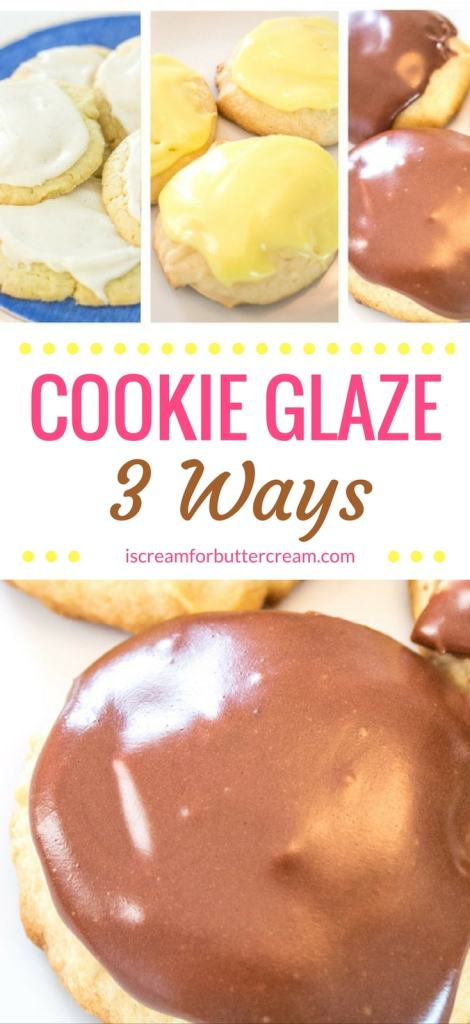 Cookie Glaze Pinterest Pin graphic