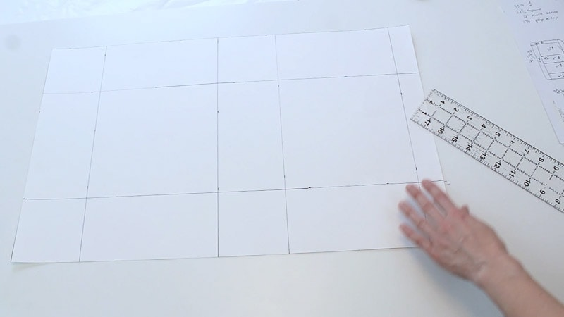 poster board will look like this from side