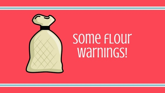 Flour Warnings Graphic