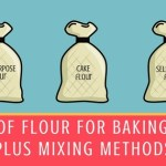 Types of Flour for Baking Cakes Plus Mixing Methods