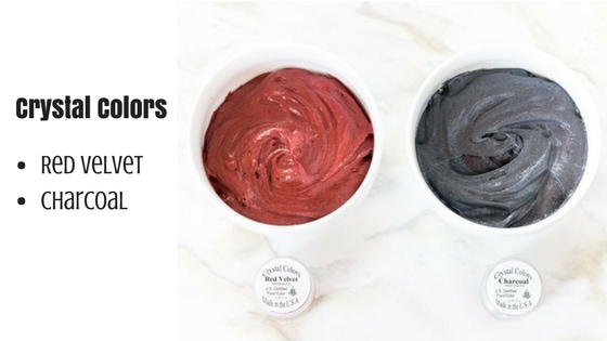 Coloring Dark Buttercream with Powder Coloring