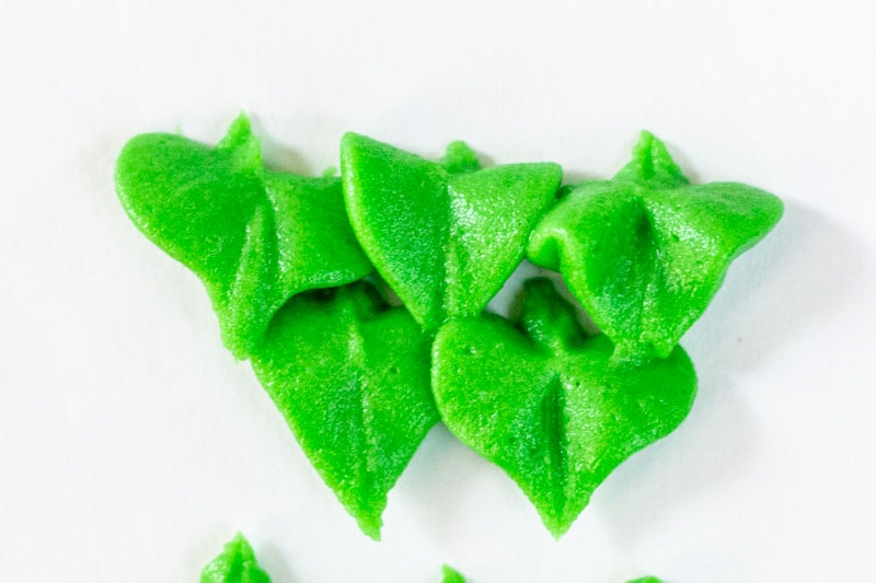 Buttercream Leaves