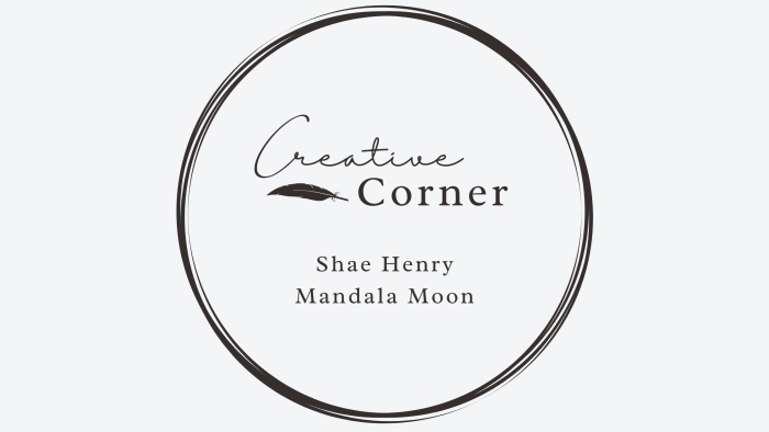 creative corner interview mandala moon art