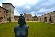 lucchi isculpture sangimignano castello di casole caseoledelsa