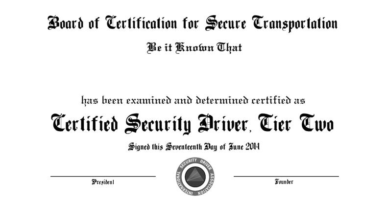 ISDA Certification