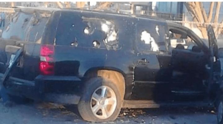 An Analysis of a Vehicle Urban Gunfight