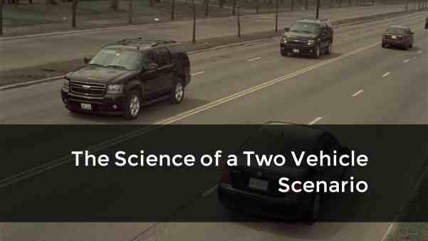 The science of two car scenarios