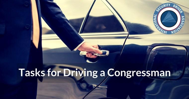 driving congressman