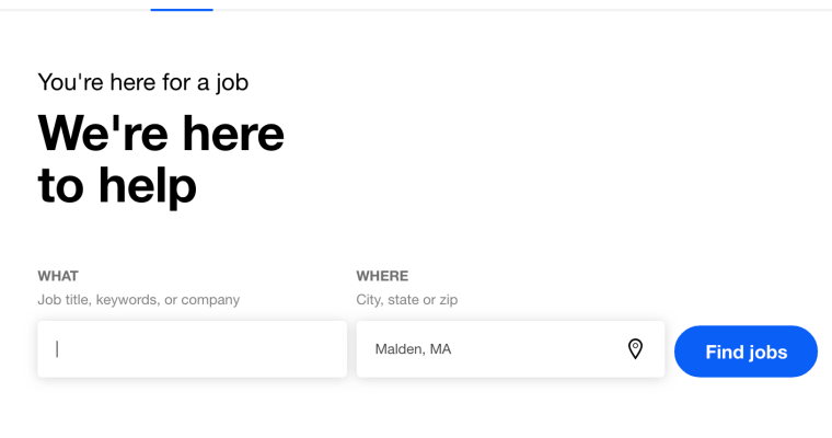 Indeed.Com Job Search Website