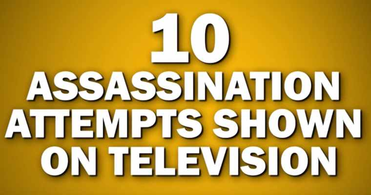 10 Assassination Attempts That Were Shown On Television