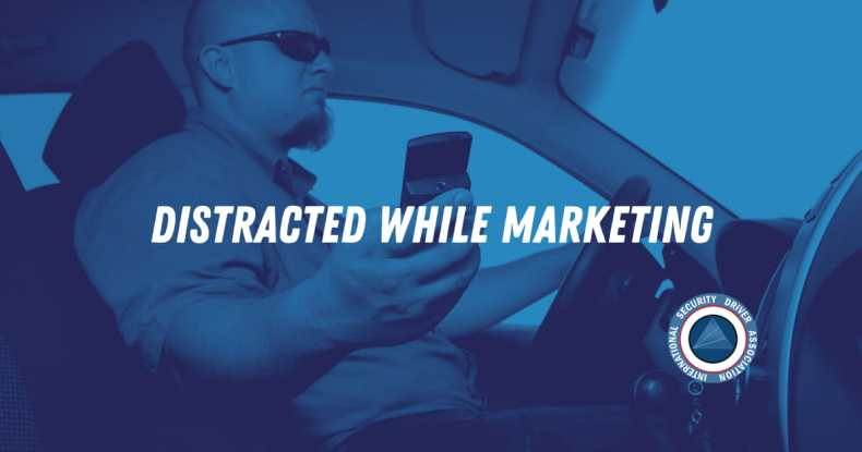 Distracted While Marketing