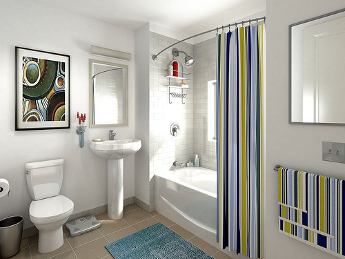 INTERIOR DESIGN BATHROOM >> Interior Design Small Bathroom