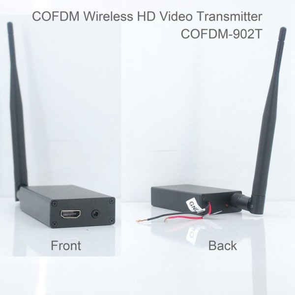 COFDM HD Wireless composite Video Transmitter 1 -