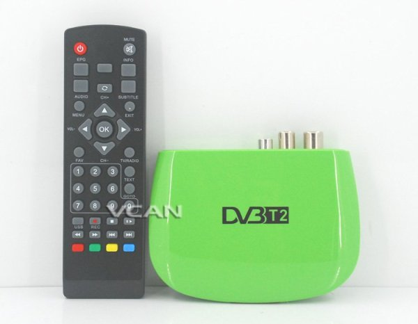 Mini HD DVB-T2 Home H.264 Set Top Box 1 -