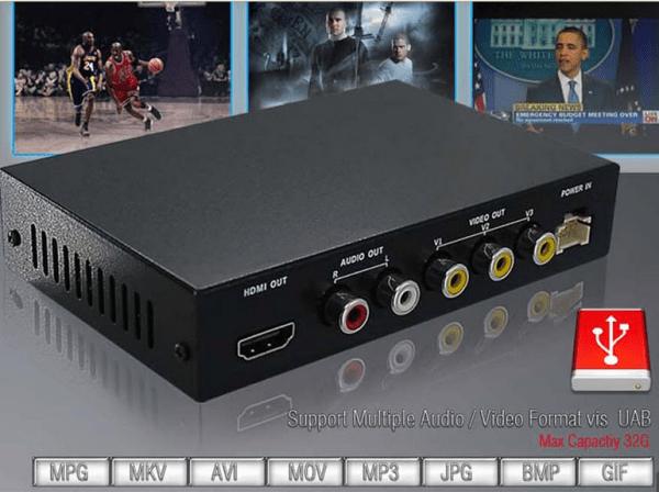 DVB-T2100HD Car DVB-T MPEG4 H.264 tv receiver with 2 tuner PVR USB Record 3 -