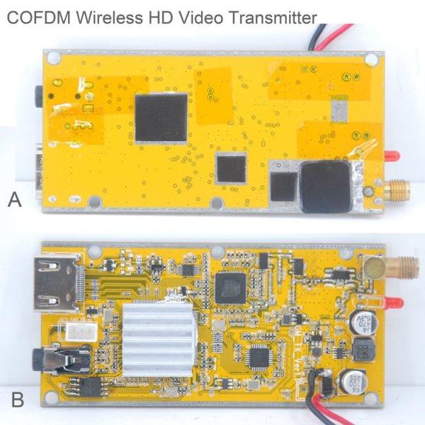 COFDM HD Wireless composite Video Transmitter 5 -