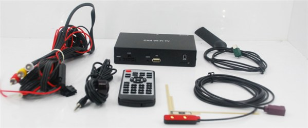 Car Wifi TV Digital TV Receiver Box send TV 4 -
