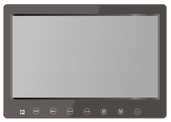 2 tuner 2 antenna 10.1 inch full segment digital TV receiver for Japan 7 -