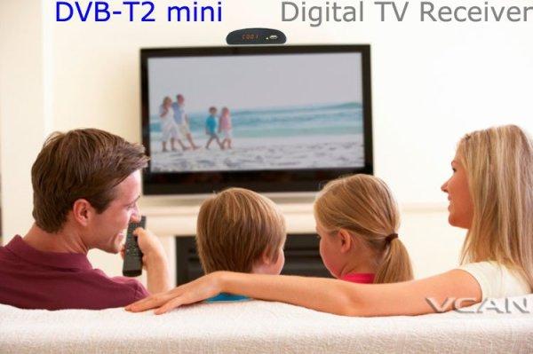 Digital TV receiver Set Top Box Home HDTV HDMI USB 6 -