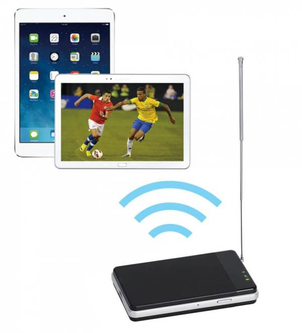 WIFI DVB-T2 Tuner Digital TV DVB-T Receiver for Android phone and pad WIFI-TV300 9 -