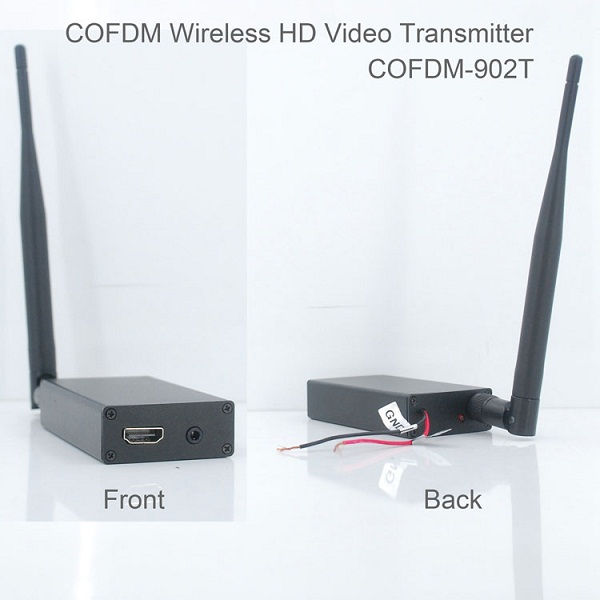 COFDM-902T COFDM HD Wireless composite Video Transmitter 1080P CVBS SD 720P 1 -