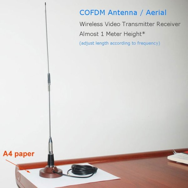 COFDM receiver Antenna for Wireless Video Transmission RX aerial VCAN1514 5 -