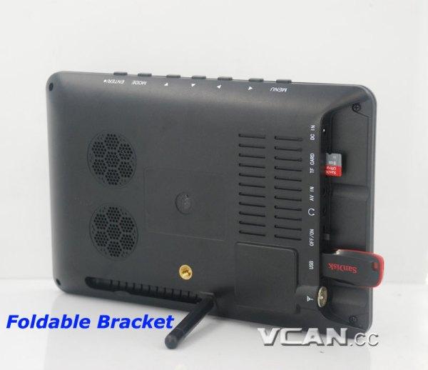 7 inch Digital TV Analog TV USB TF MP5 player 4 -