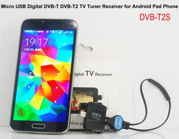 Mobile Phone DVB-T2 TV stick Tuner Receiver Micro USB for android pad digital 6 -