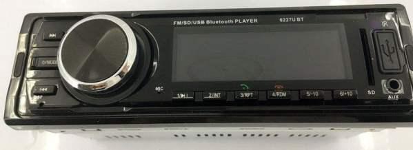 Fixed Panel Car MP3 USB SD FM Bluetooth RDS  MP3-6227 2 -