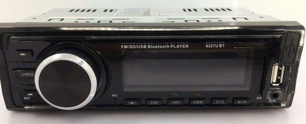 Fixed Panel Car MP3 USB SD FM Bluetooth RDS  MP3-6227 10 -