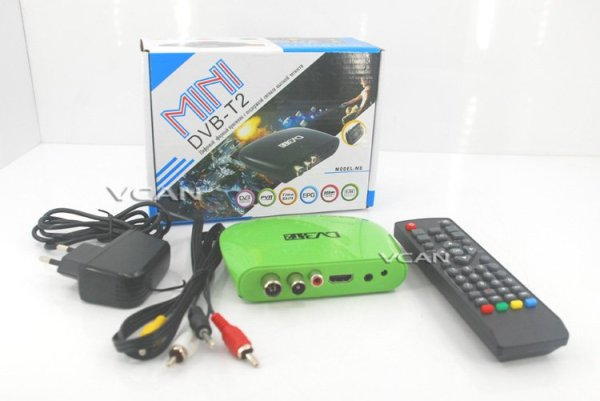 Mini HD DVB-T2 Home H.264 Set Top Box with USB support PVR 5 -