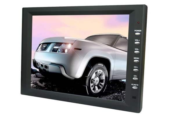 10.4 inch new panel VGA TFT touchscreen laptop monitor with speaker amplifier TM-1040 3 -