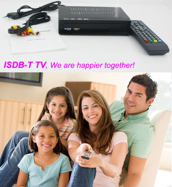 VCAN1047 Home ISDB-T Digital TV Receiver TV Plus black box MPEG4 HDMI USB PVR Remote 3 -