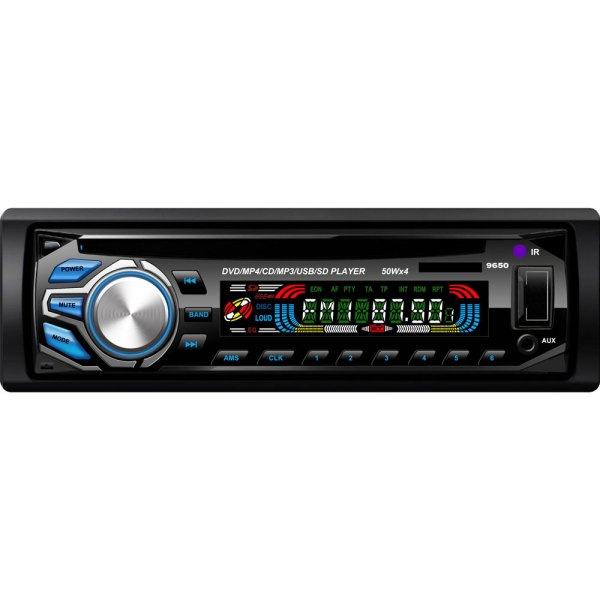 Vcan1236 1 Din Detachable front panel DVD CD MP3 MP4 USB player Car radio Amplifier 1 -
