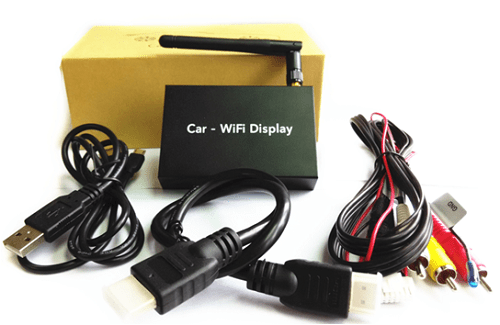 VCAN1245 Universal WIFI Wirelss Mirror Link BOX with CVBS and HDMI output 1 -