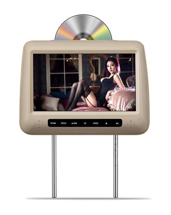 "9"" Headrest DVD with FM IR USB SD MP5 Wireless Game HDMI VCAN1405 1 -"