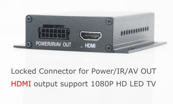 One tuner One antenna car DVB-T tv receiver MPEG4 DVB-T7000 2 -