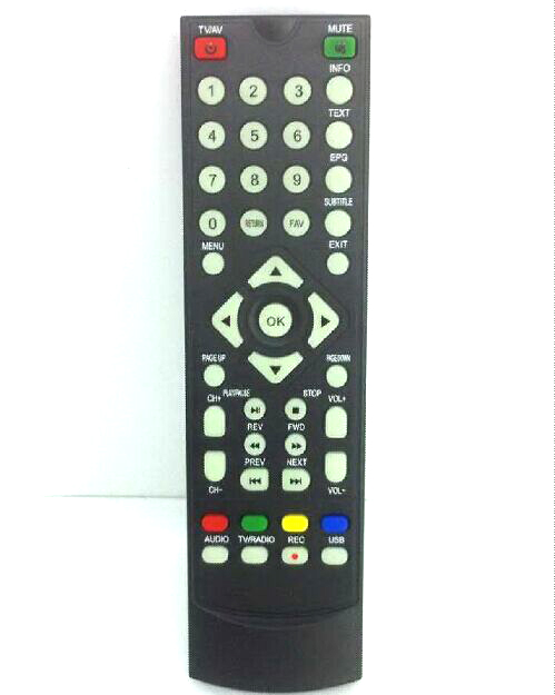 Remote control for DVB-T2010HD Car DVB-T TV Receiver set top box VCAN DVB-T265 DVB-T221 DVB-T24 DVB-T22 1 -