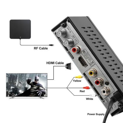 Mexico ATSC TV Receiver Digital TV MPEG4 HDMI USB PVR VCAN1078 for USA Canada 2 -