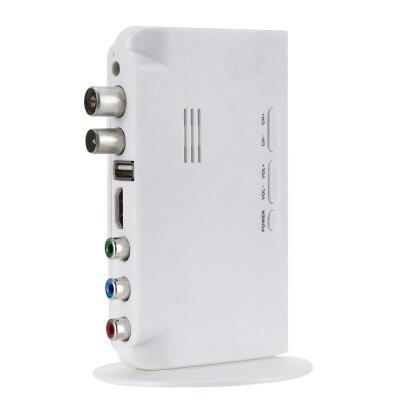 Digital TV ISDB-T ISDB-C Receptor TV Tuner Receiver TDT Set Top Box H.264 HDTV Decoder For VHF UHF TV Antenna 2 -