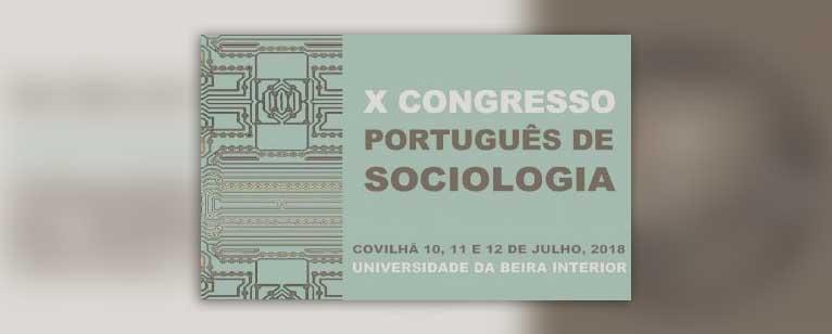 X Congreso Portugués de Sociología, Covilhã (Portugal)