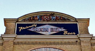 Minneapolis Brewing Company Grain Belt Brewery sign