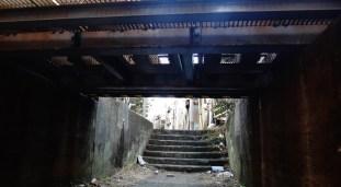 Senzokuike underpass dark