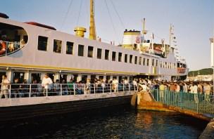 Istanbul crowded ferry