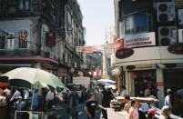 Istanbul crowded market
