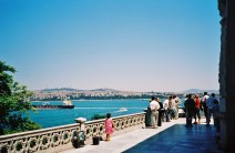 Istanbul from Topkapi palace