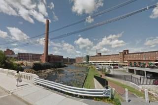 Biddeford Maine red brick mills